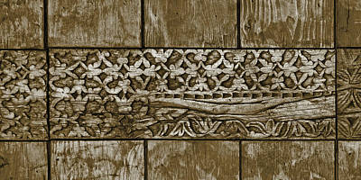 Hand Made Photograph - Carving - 7 by Nikolyn McDonald