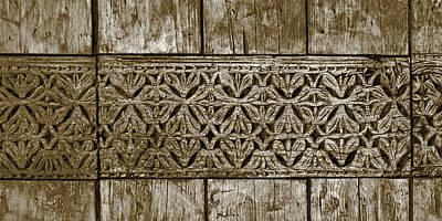 Photograph - Carving - 8 by Nikolyn McDonald