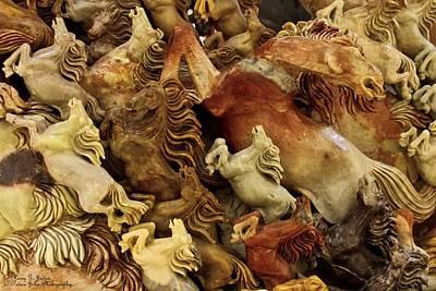 Carvings In Jade - 6 - Wild Horses  Original