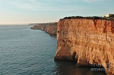 Photograph - Carvoeiro Cliffs In Algarve by Angelo DeVal