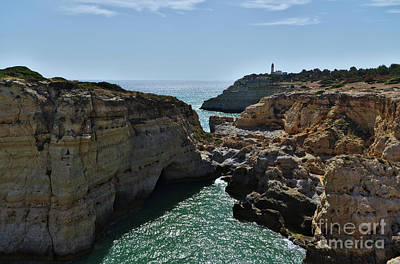 Photograph - Carvoeiro Lighthouse And Cliffs by Angelo DeVal