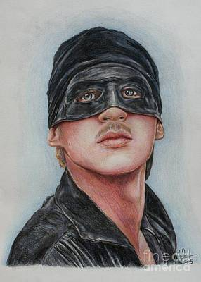 Drawing - Cary Elwes / Westley / The Princess Bride by Christine Jepsen