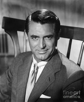 Cary Grant (1904-1986) Art Print by Granger