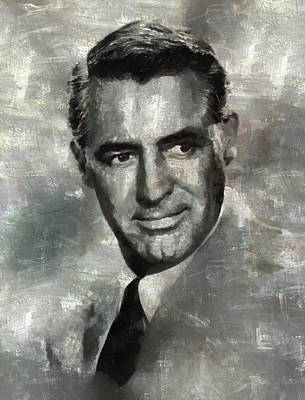 Celebrities Royalty-Free and Rights-Managed Images - Cary Grant by Esoterica Art Agency