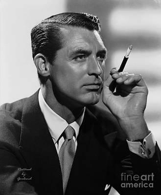 Black Tie Mixed Media - Cary Grant by Garland Johnson