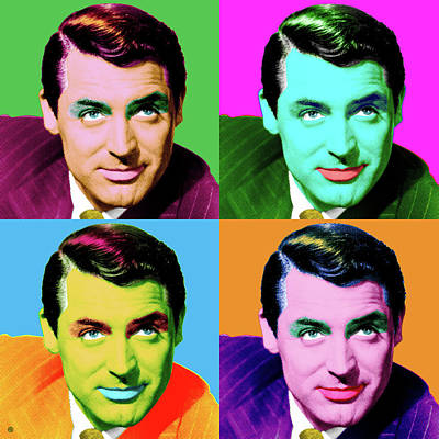 Painting - Cary Grant by Gary Grayson