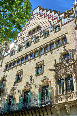Photograph - Casa Amatller In Barcelona by Eduardo Jose Accorinti