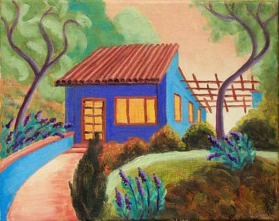 Painting - Casa Azul by Ruth Soller