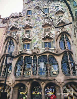 Photograph - Casa Batllo - Barcelona by Colleen Kammerer