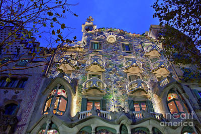 Casa Batllo In Barcelona Art Print