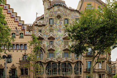 Photograph - Casa Batllo In Barcelona, Spain by Blaz Gvajc