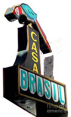 Photograph - Casa Brasil by Randall Weidner
