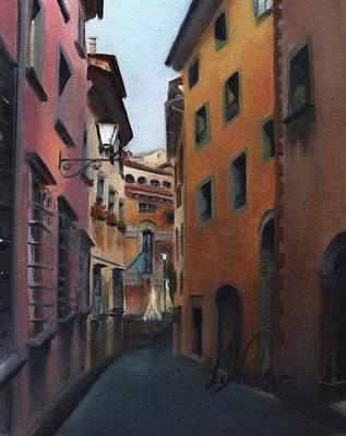Casa Cordati Art Print by Leah Wiedemer