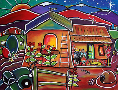 Painting - Casa De Abeulos by Jan Oliver-Schultz