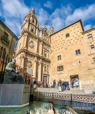 Photograph - Casa De Las Conchas In Salamanca by JR Photography