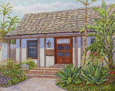 Casa De Miguel Pedrorena Art Print by Miguel A Chavez
