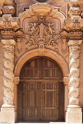 Photograph - Casa Del Prado Theater - Architectural Details - 1 by Hany J