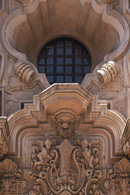 Photograph - Casa Del Prado Theater - Architectural Details - 3 by Hany J