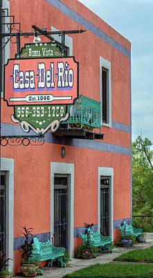 Photograph - Casa Del Rio In Roma Texas by Debra Martz