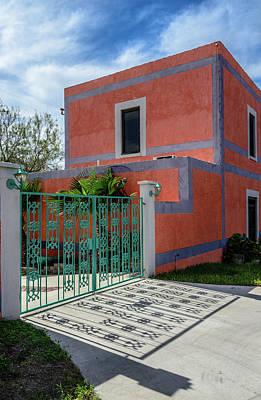 Photograph - Casa Del Rio In Roma Texas No.2 by Debra Martz