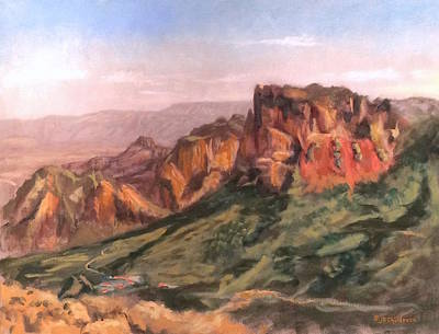 Grande Painting - Casa Grande by J P Childress