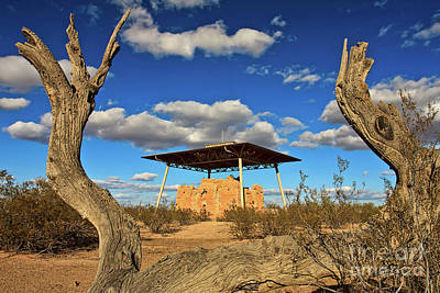 Photograph - Casa Grande Ruins National Monument by Sam Antonio Photography