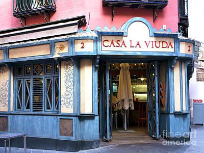 Photograph - Casa La Viuda by John Rizzuto