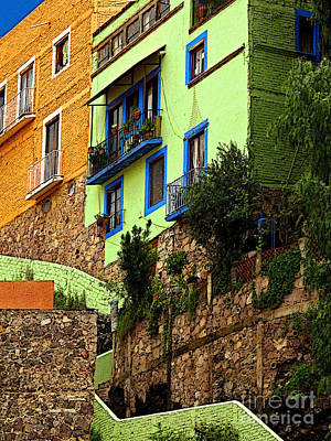 Casa Lima On The Hill Art Print by Mexicolors Art Photography
