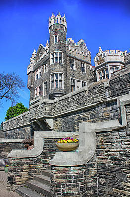 Photograph - Casa Loma Castle 05 by Carlos Diaz