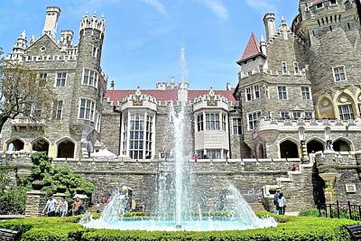 Photograph - Casa Loma by Frozen in Time Fine Art Photography