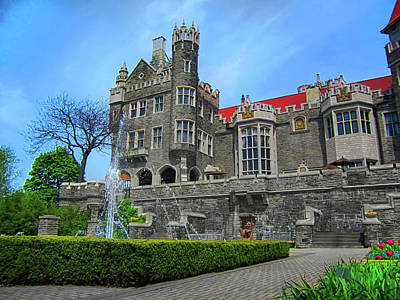 Photograph - Casa Loma Y1 by Carlos Diaz