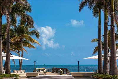Photograph - Casa Marina Ocean View by Ed Gleichman