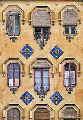 Photograph - Casa Miguel Gomez - Windows by Nikolyn McDonald