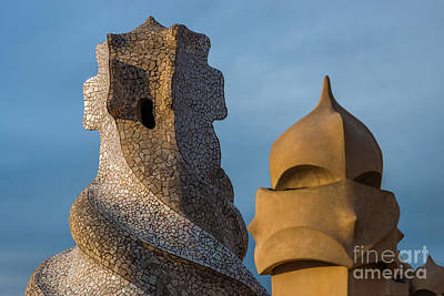 Photograph - Casa Mila by Andrew Michael
