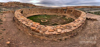 Photograph - Casa Rinconada Grand Kiva by Adam Jewell