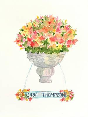 Painting - Casa Thompson by Liana Yarckin