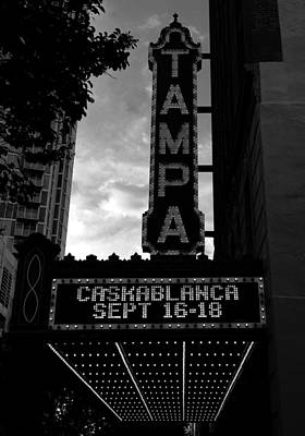Photograph - Casablanca At The Tampa Theatre by David Lee Thompson