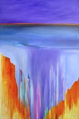 Painting - Casade by Jo Appleby