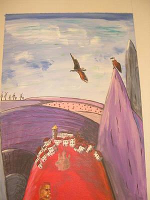 Bir Painting - Casares Art by Cheryl Turner-Hunt