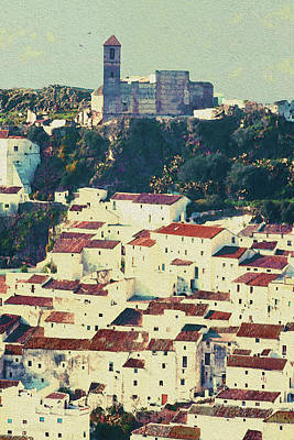 Photograph - Casares Espana - Castle Of The Moors by Robert J Sadler