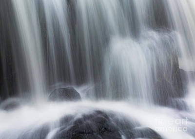 Aira Force Wall Art - Photograph - Cascade Above Aira Force by Tony Higginson