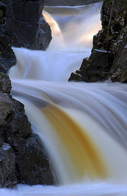 Photograph - Cascade At Dawn by Larry Ricker