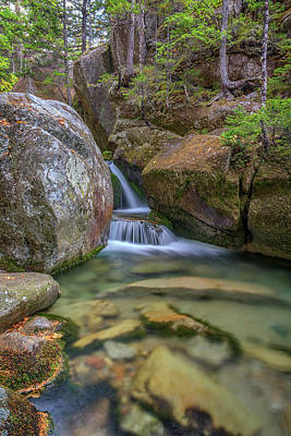 Photograph - Cascade At Katahdin Stream by Rick Berk