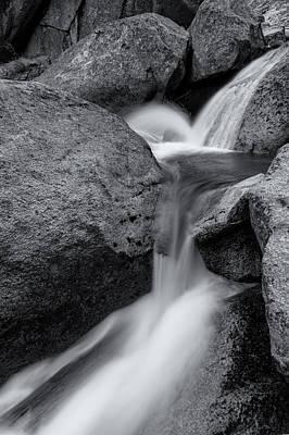 Photograph - Cascade Bw by Jonathan Nguyen