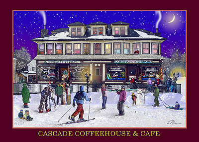 Photograph - Cascade Coffeehouse And Cafe by Nancy Griswold