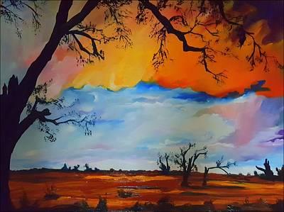 Painting - Cascade Cottonwoods      22 by Cheryl Nancy Ann Gordon