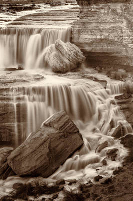 Photograph - Cascade by David Cote