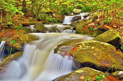 Waterfalls Photograph - Cascade by Dennis Nelson