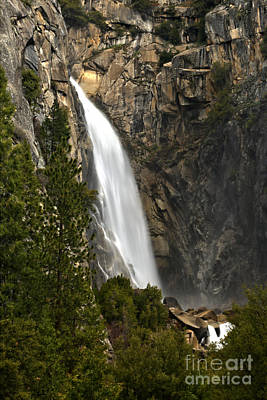 Photograph - Cascade Falls At Yosemite National Park by Adam Jewell