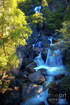 Photograph - Cascade Falls by David Arment